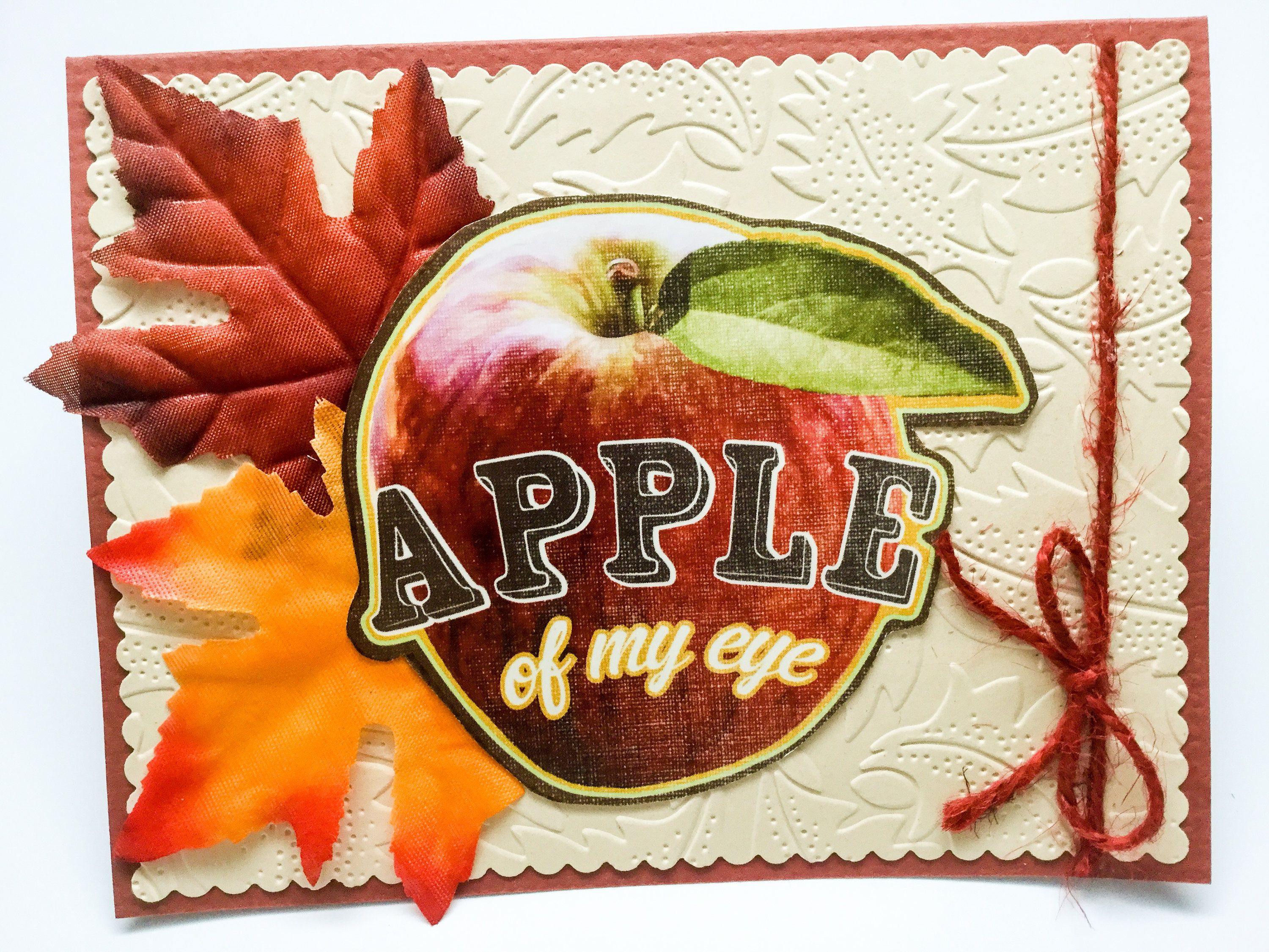 Cards On Sale Believe In Miracles Apple Pie Thank You Cards