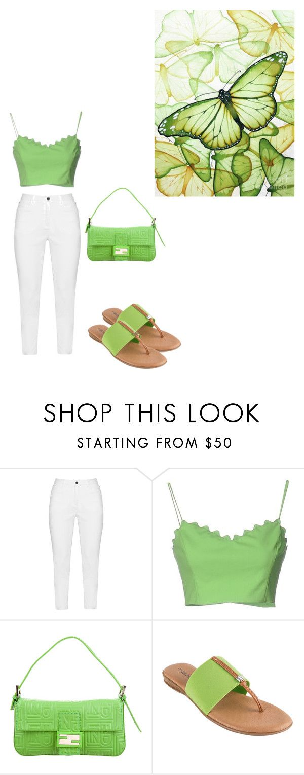 """All Ready For The Day"" by kimberlydalessandro ❤ liked on Polyvore featuring Zhenzi, Moschino Cheap & Chic, Fendi and André Assous"
