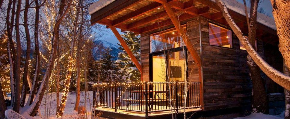 The WheelHaus Wedge cabin -