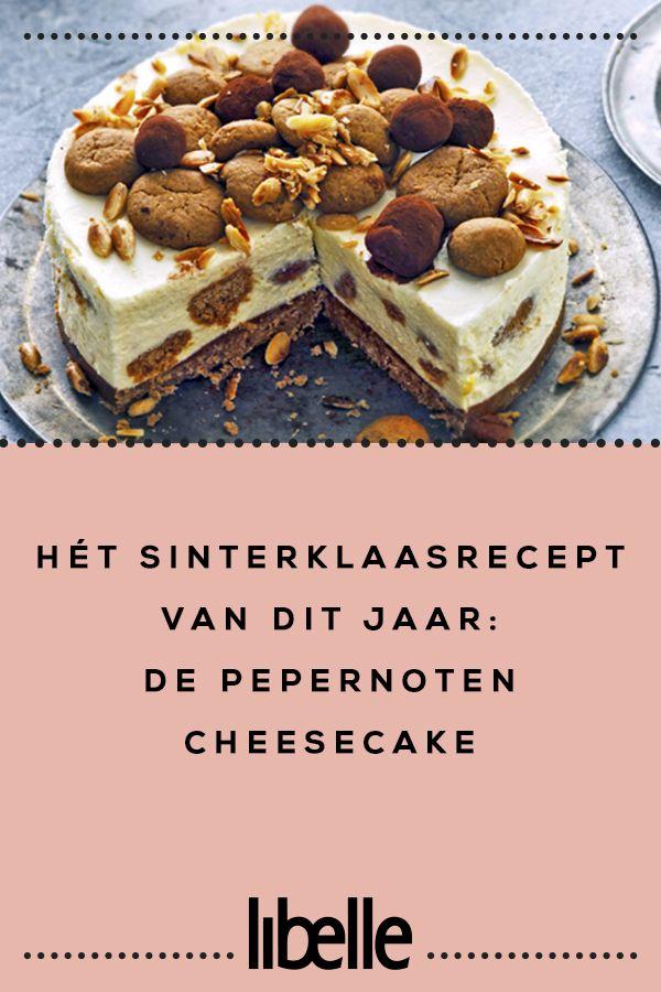Hét Sinterklaasrecept van dit jaar de pepernotencheesecake