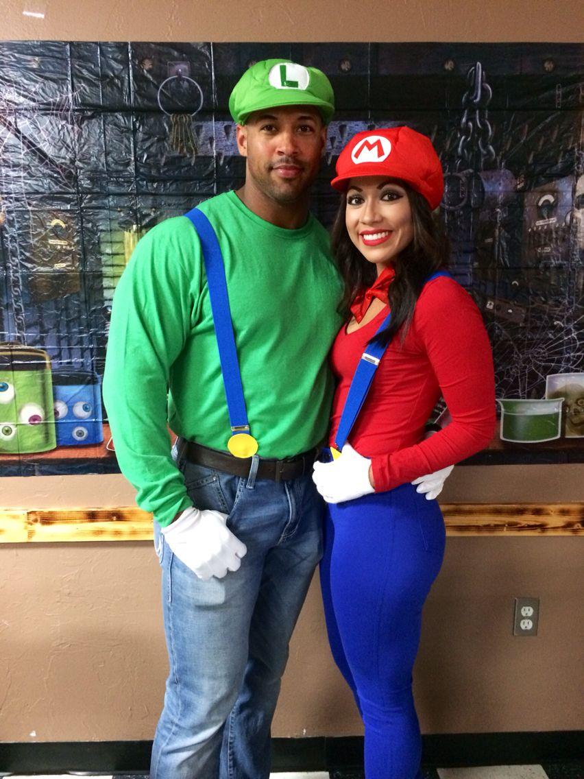 Mario and Luigi Couple costume Cute couple halloween