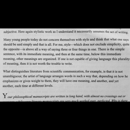 Excerpt From An Interview With Jean Paul Sartre He Was 75 At The Time Jeanpaulsartre Interview Phenomenology Phil Music Writing Phenomenology Literature