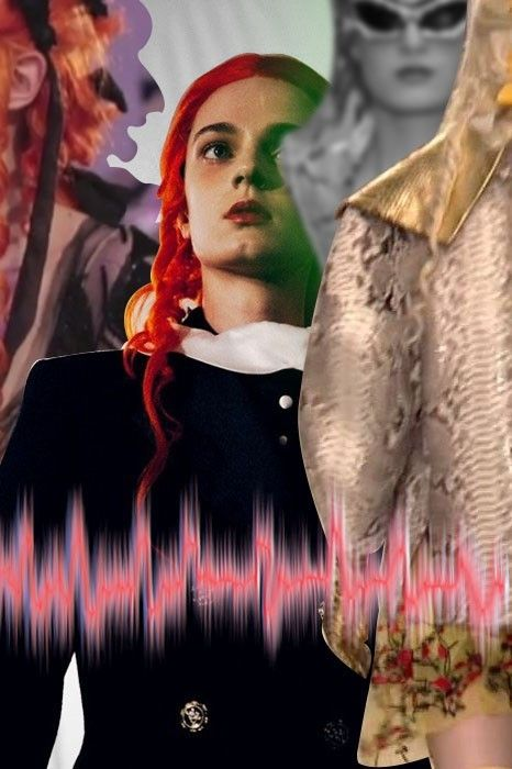 A mash up of Meadham Kirchhoff for their exclusive playlist. More images here: http://www.dazeddigital.com/fashion/article/18824/1/exclusive-meadham-kirchhoff-playlist