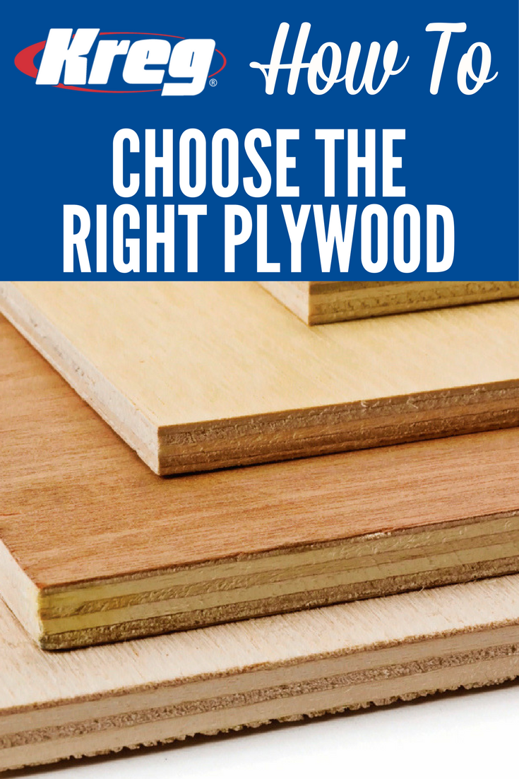 How To Choose The Right Plywood Plywood Is A Great Material For Building Projects But Not All Diy Projects Kitchen Cabinets Diy Furniture Projects Wood Diy