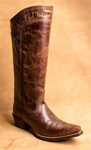 4cdce50f12028e Women s Ariat Sahara Sassy Brown Leather Boot 10011941 - Boyers BootNShoe
