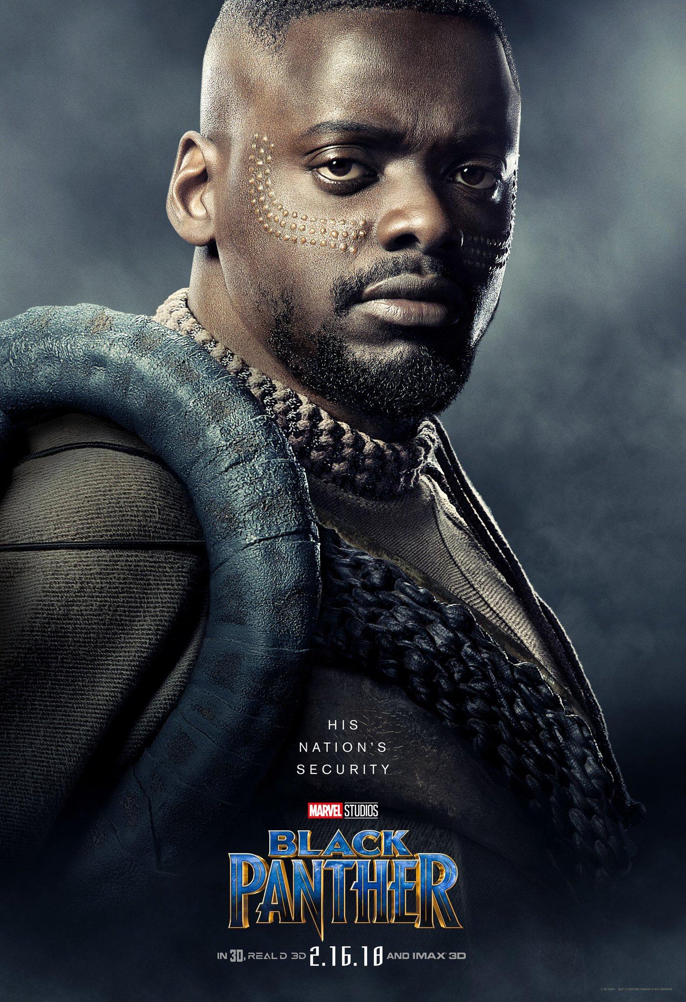 W\'Kabi – Black Panther • Poster design by Art Machine • Photography ...