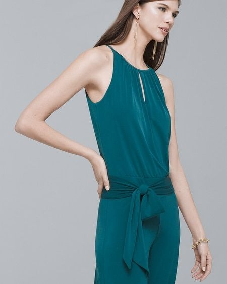 03d32f3b9c75 Women s Wide-Leg Keyhole Jumpsuit by White House Black Market