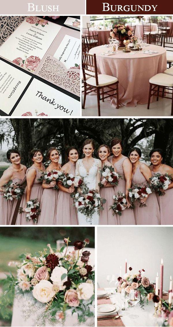 Dusty Rose Floral Wedding Invitations Laser Cut wi