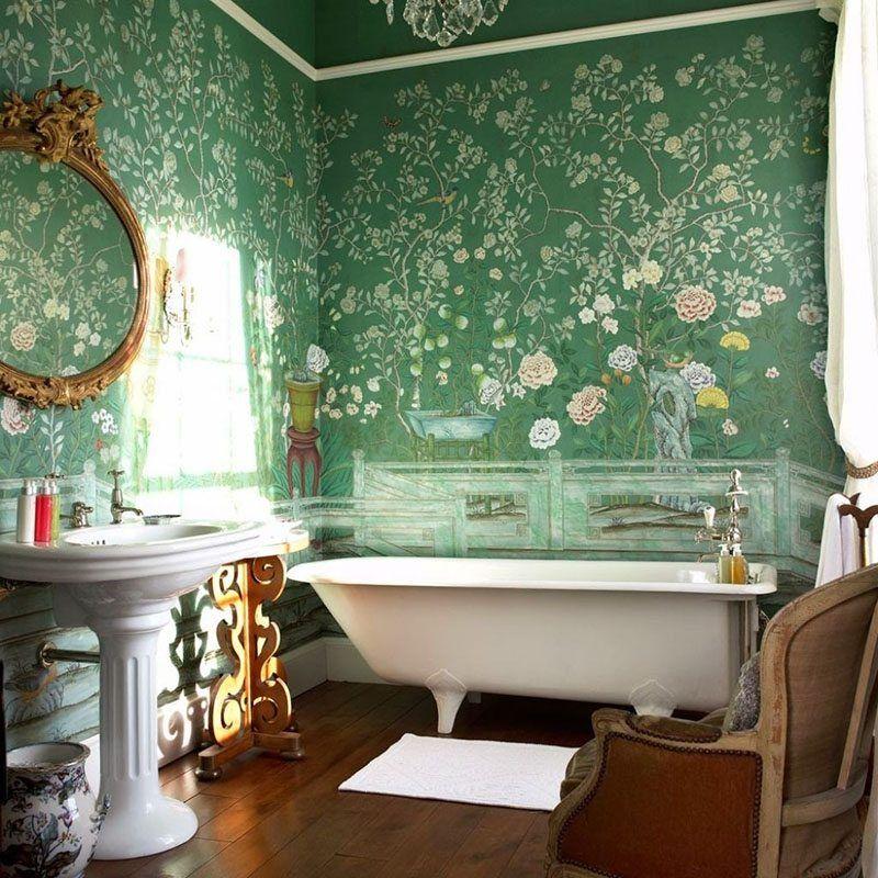 10 ideas para decorar un baño vintage con mucho estilo Baño