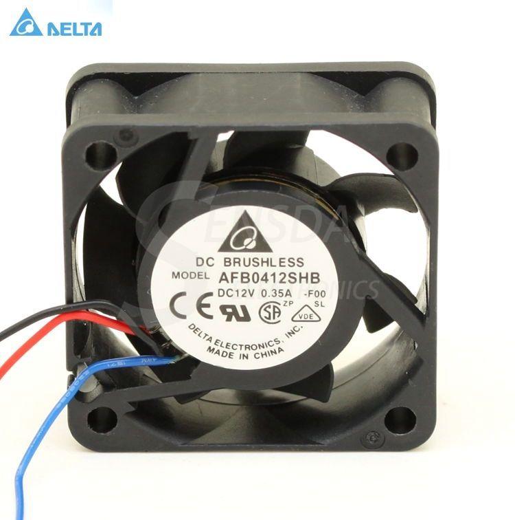 Delta Afb0412shb 4015 4cm 40mm 12v 0 35a Silent Mini Micro Quiet