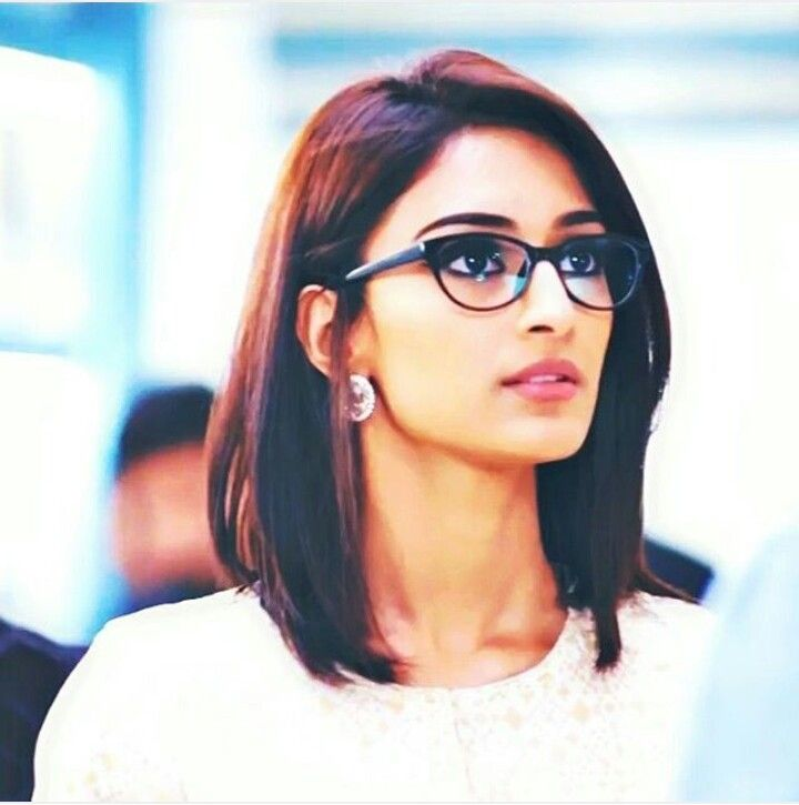 Follow Me On Rafiya Yashfeen For More Short Hair Outfits Short Hair Glasses Most Beautiful Indian Actress