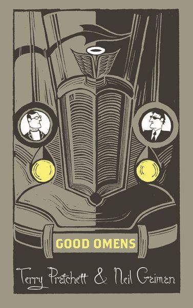 Good Omens Poster Silk 2019 Neil Gaiman Terry Pratchett TV Series Decor D-340