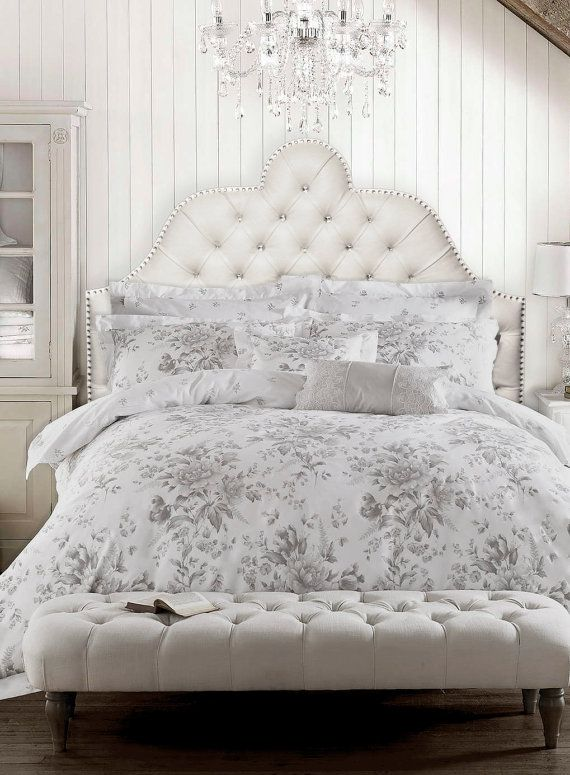 Tufted Headboard Millie With Rhinestone Nails And By Felixhart