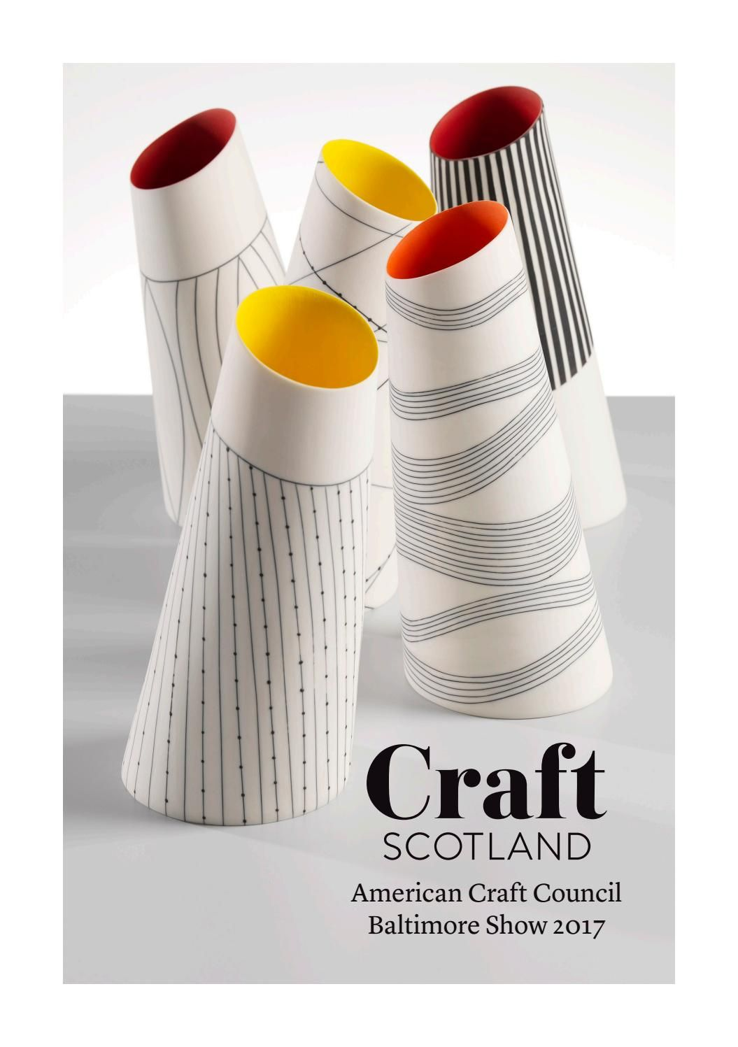 Craft Scotland At The American Craft Council Baltimore Show