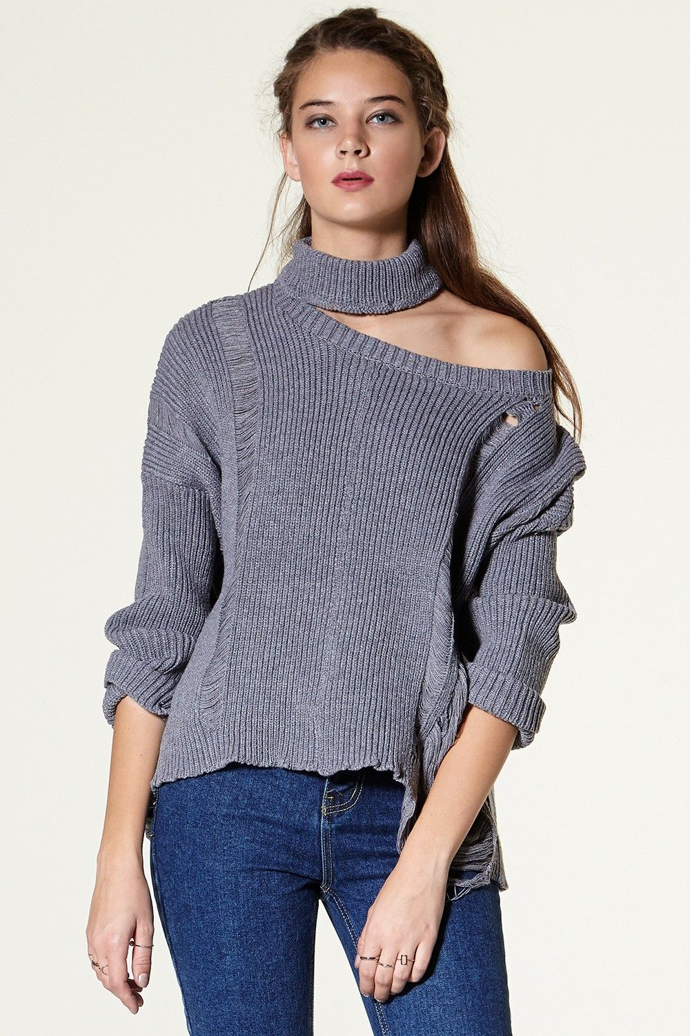 Sorina Cut out Pullover Discover the latest fashion trends online ...