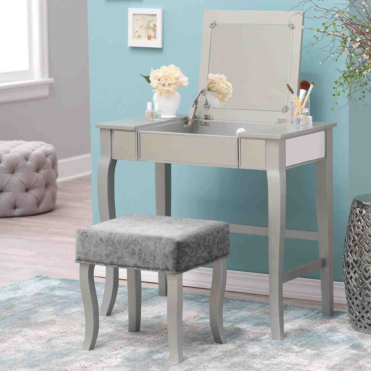 Vanity Mirror With Lights Walmart Glamorous This Modern Corner Makeup Vanity  Full Size Of Bedroommodern Design Ideas