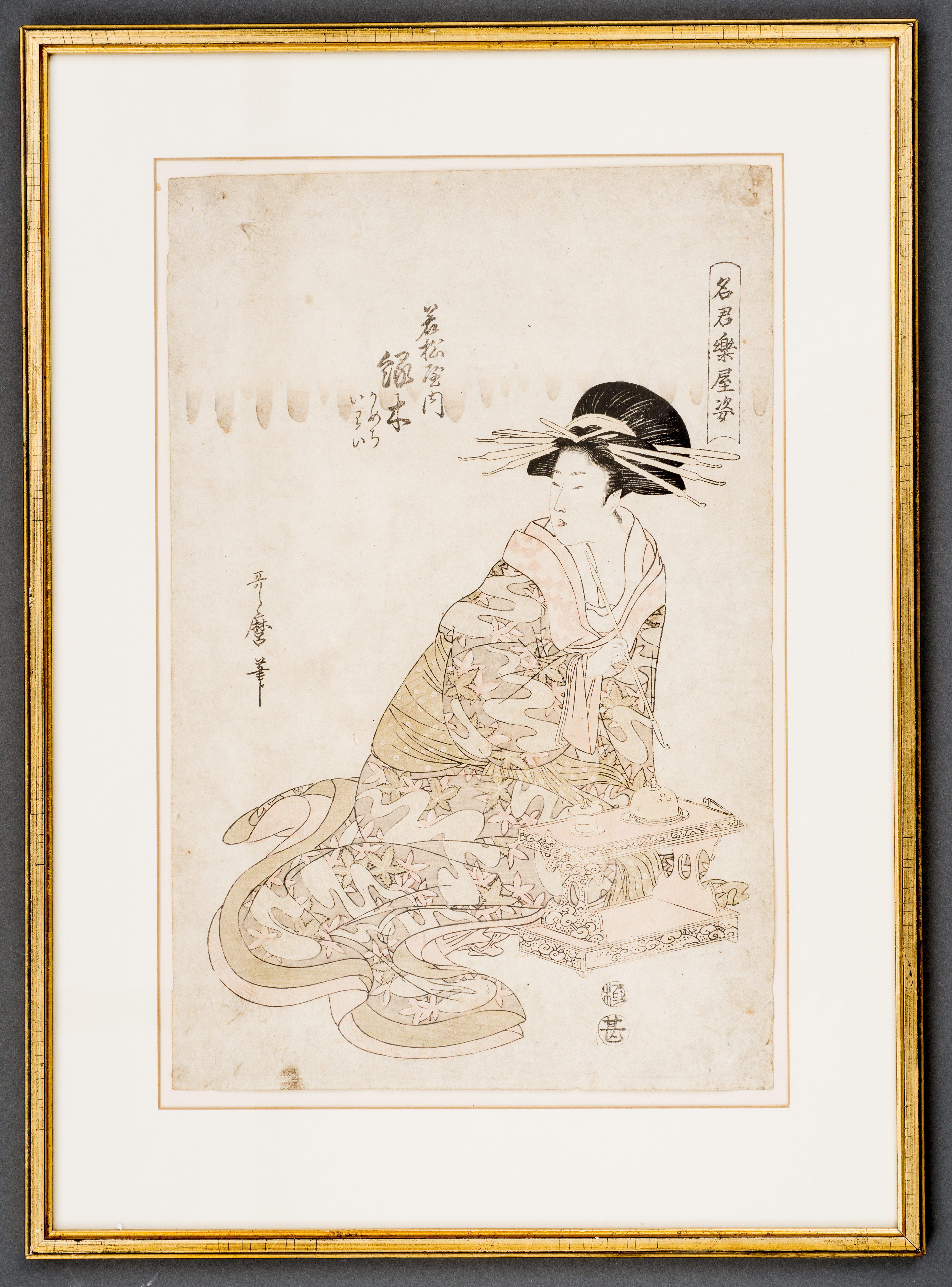 KITAGAWA UTAMARO II - 喜多川歌麿二代 (tätig ca. 1800 - 1830) | Gallery Zacke