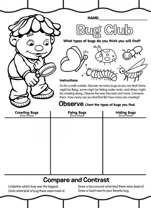 Fun Activity And Printable Coloring Page Of Science For Children ...