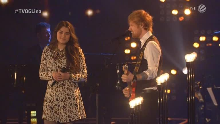 Video - Starduett: Lina Arndt und Ed Sheeran - Thinking Out Loud - The Voice of Germany
