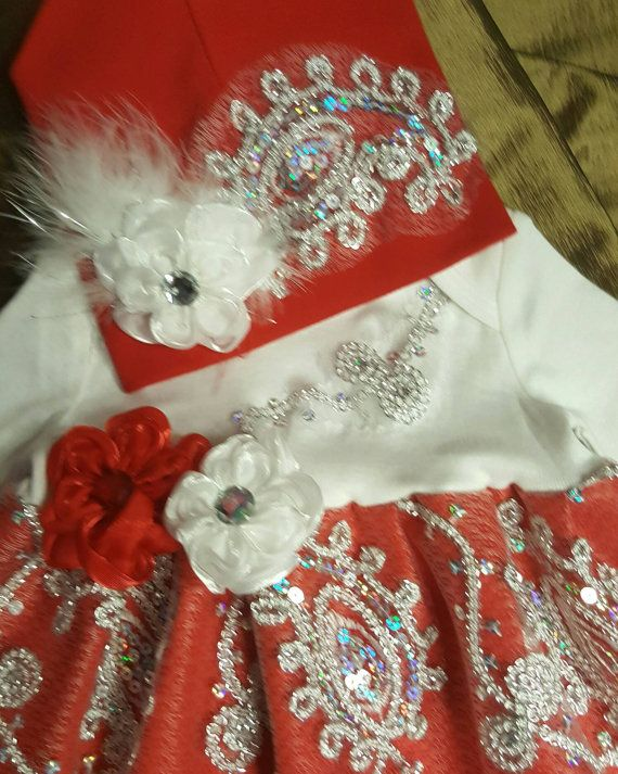 Check out this item in my Etsy shop https://www.etsy.com/listing/492793673/3-pieces-deluxe-baby-outfit-red-and