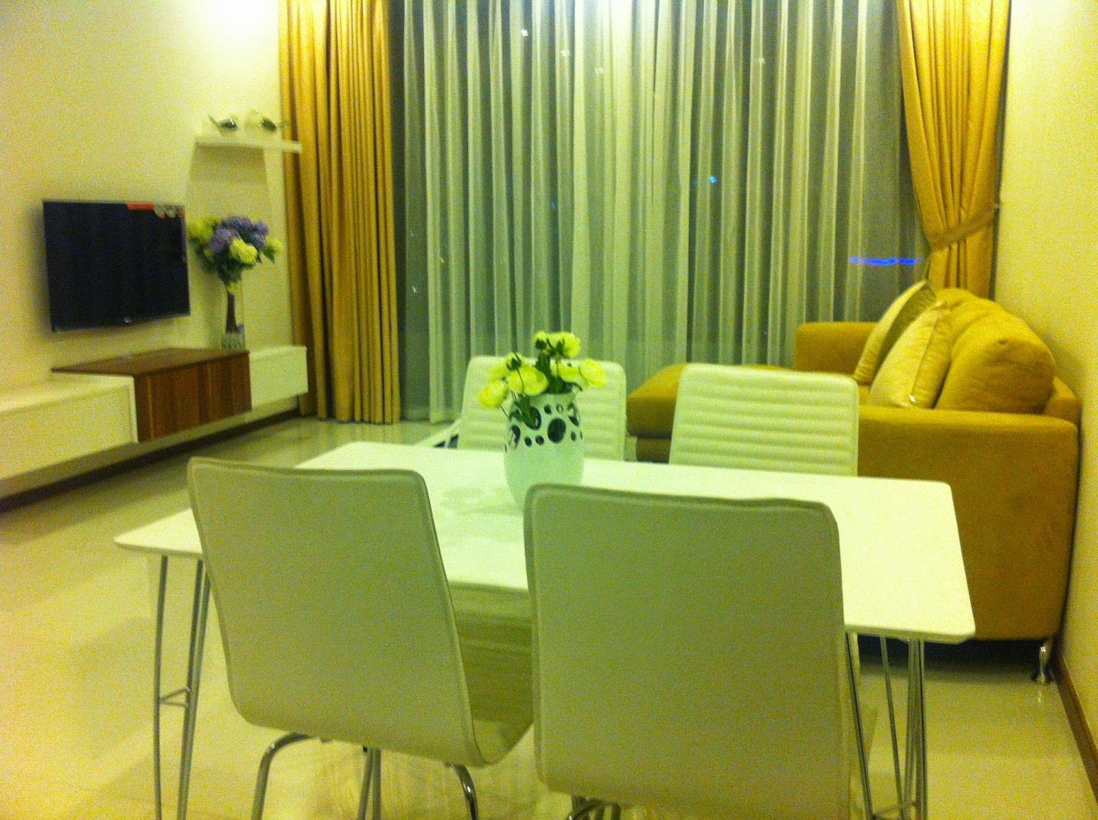 Thao Dien Pearl apartment for rent This fully furnished