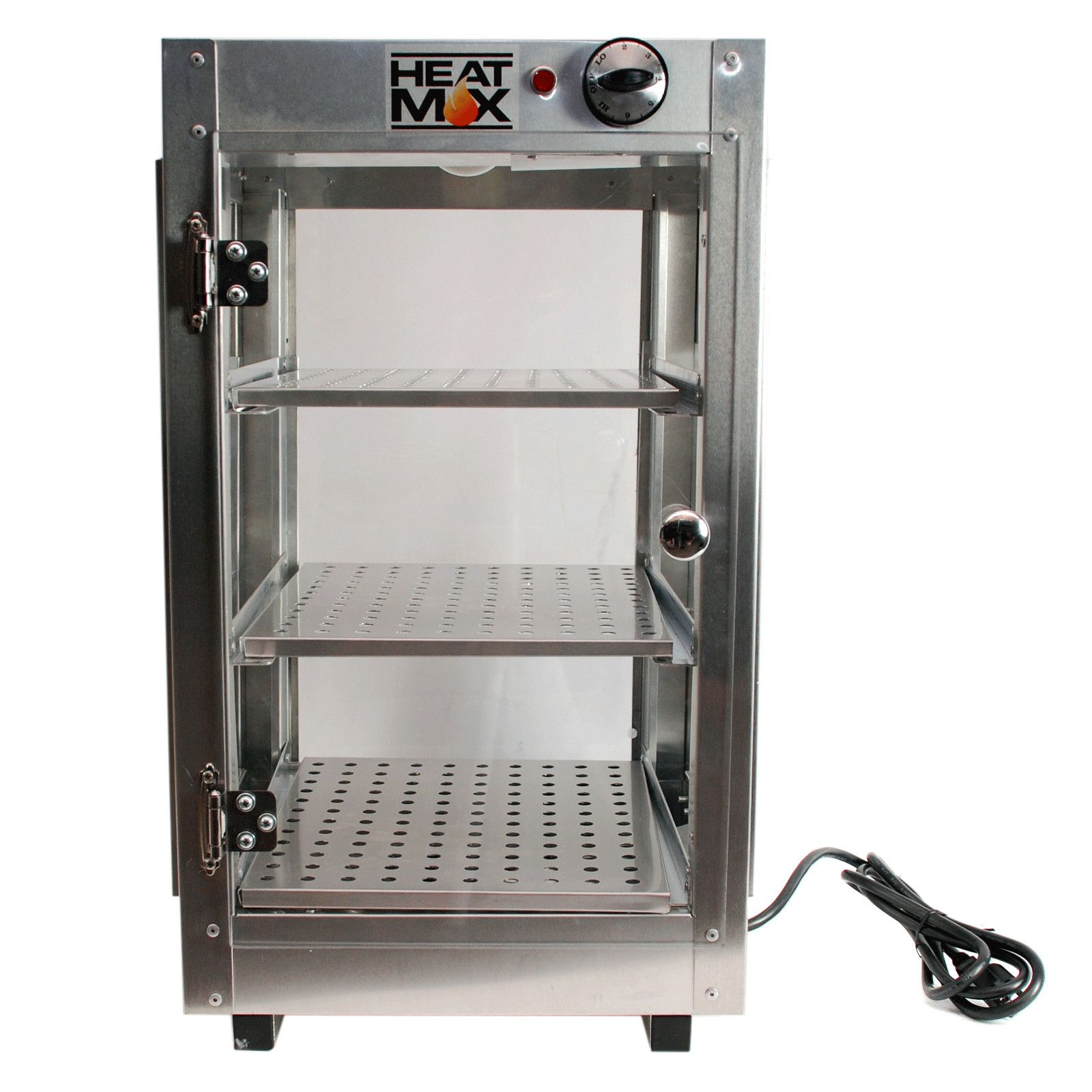 heatmax mercial countertop food warmer display case with water
