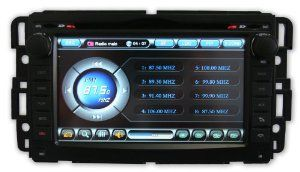 Chevrolet Tahoe Bose 07 12 Oem Replacement In Dash Double Din Touch Screen Gps Navigation
