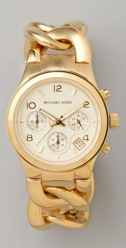 Michael Kors watch. I love the Band!