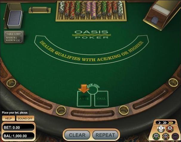 Покер оазис играть онлайн бесплатно ооо фрегат 777 игровые автоматы