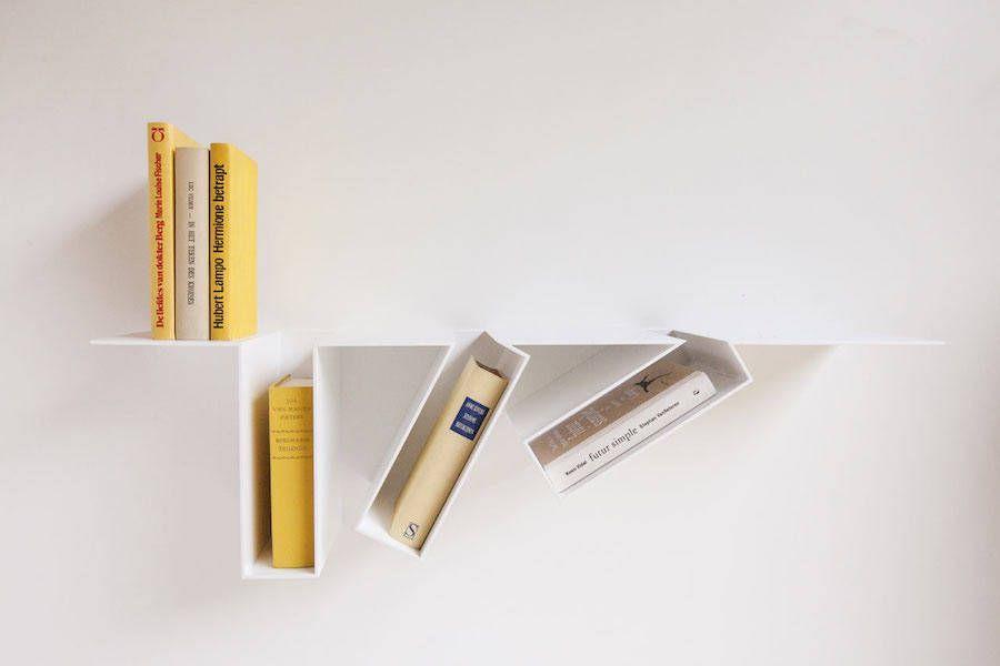 Oblique Bookcase