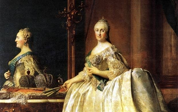 a biography of catherine ii an empress of russia