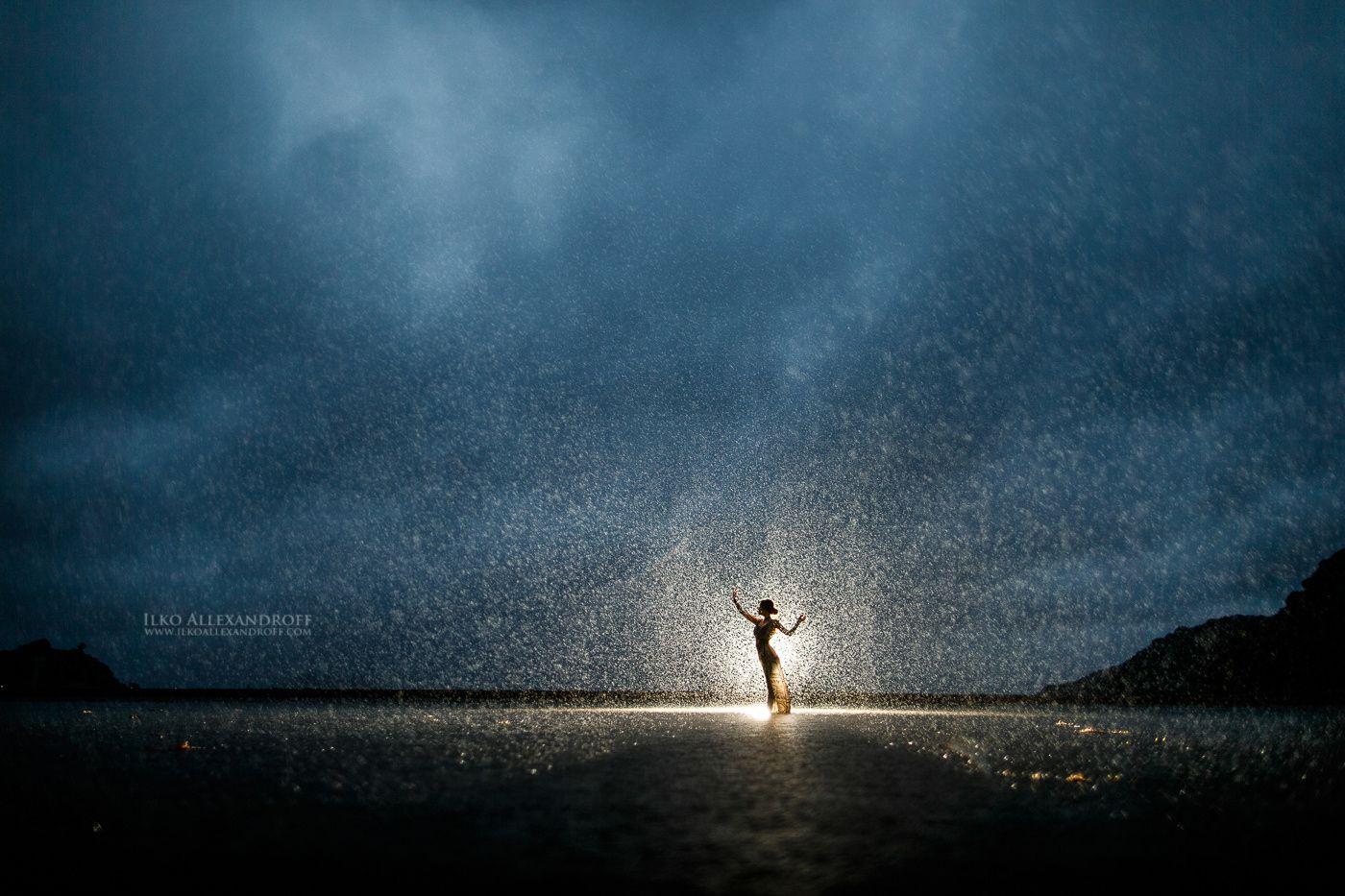 Photo Rainy Silhouette by Ilko Allexandroff on 500px