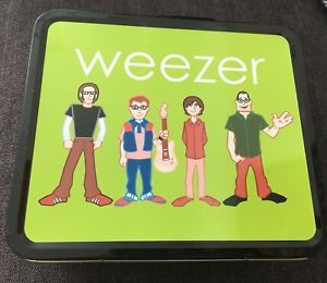 Weezer Lunchbox Out Of Production Promo only Toto Africa