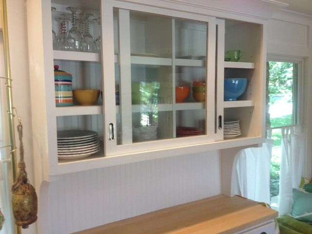 Kitchen Cabinet Sliding Door Pleasing With Sliding Glass Cabinet ...