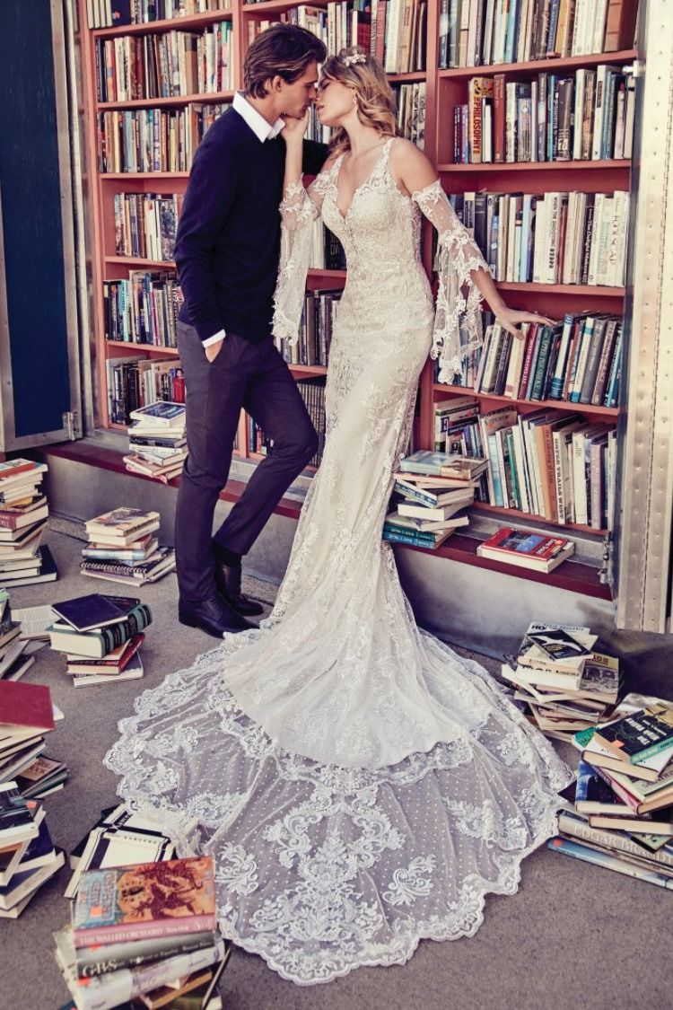 Lucienne Marie by Maggie Sottero. Try this beauty on at