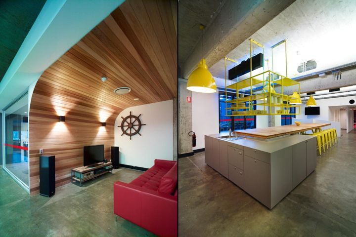 Emi music office by the world is round sydney australia office