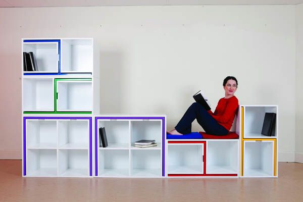 furniture | dining-set-bookcase-combo by Orla Reynolds