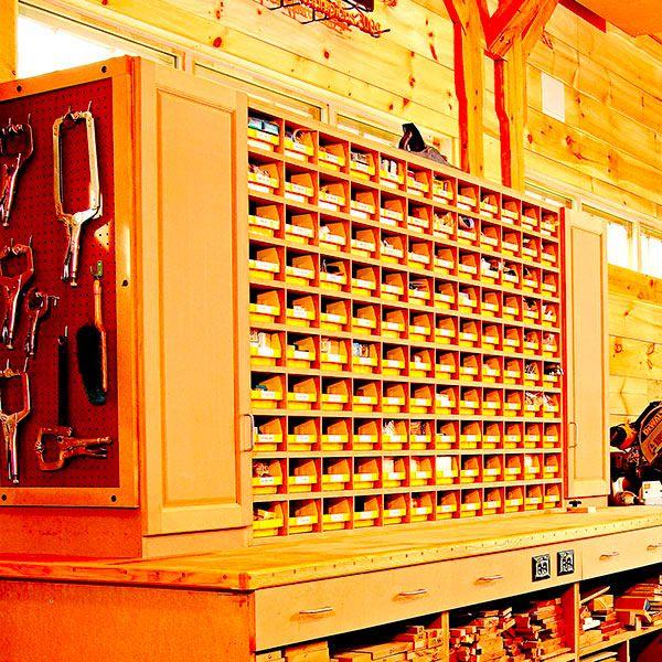 Wood Storage Workshop Lumber Rack