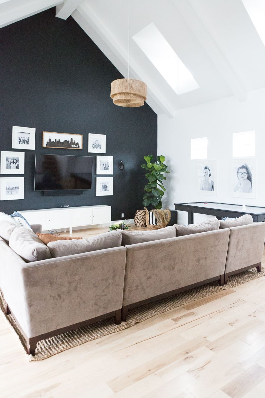 Top 10 Blog Posts 2017 Accent Walls In Living Room Living Room Paint Vaulted Ceiling Living Room