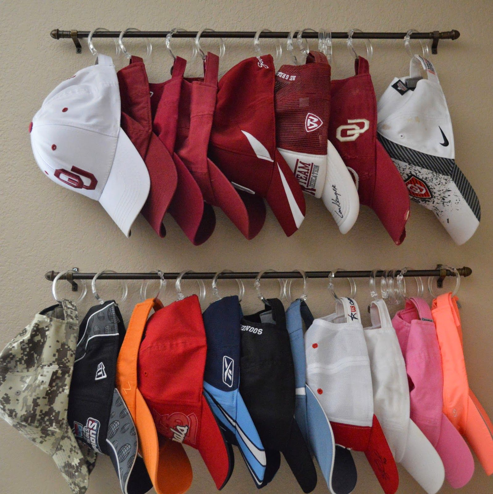 Baseball Cap Organization-EASY & CHEAP DIY