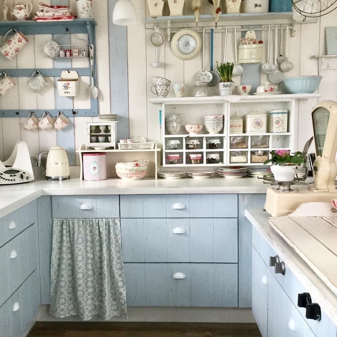 323 Gilla Markeringar 17 Kommentarer Walnut Cottage Pa Instagram Big Loooove Country Kitchen Retro Kitchen Kitchen Design