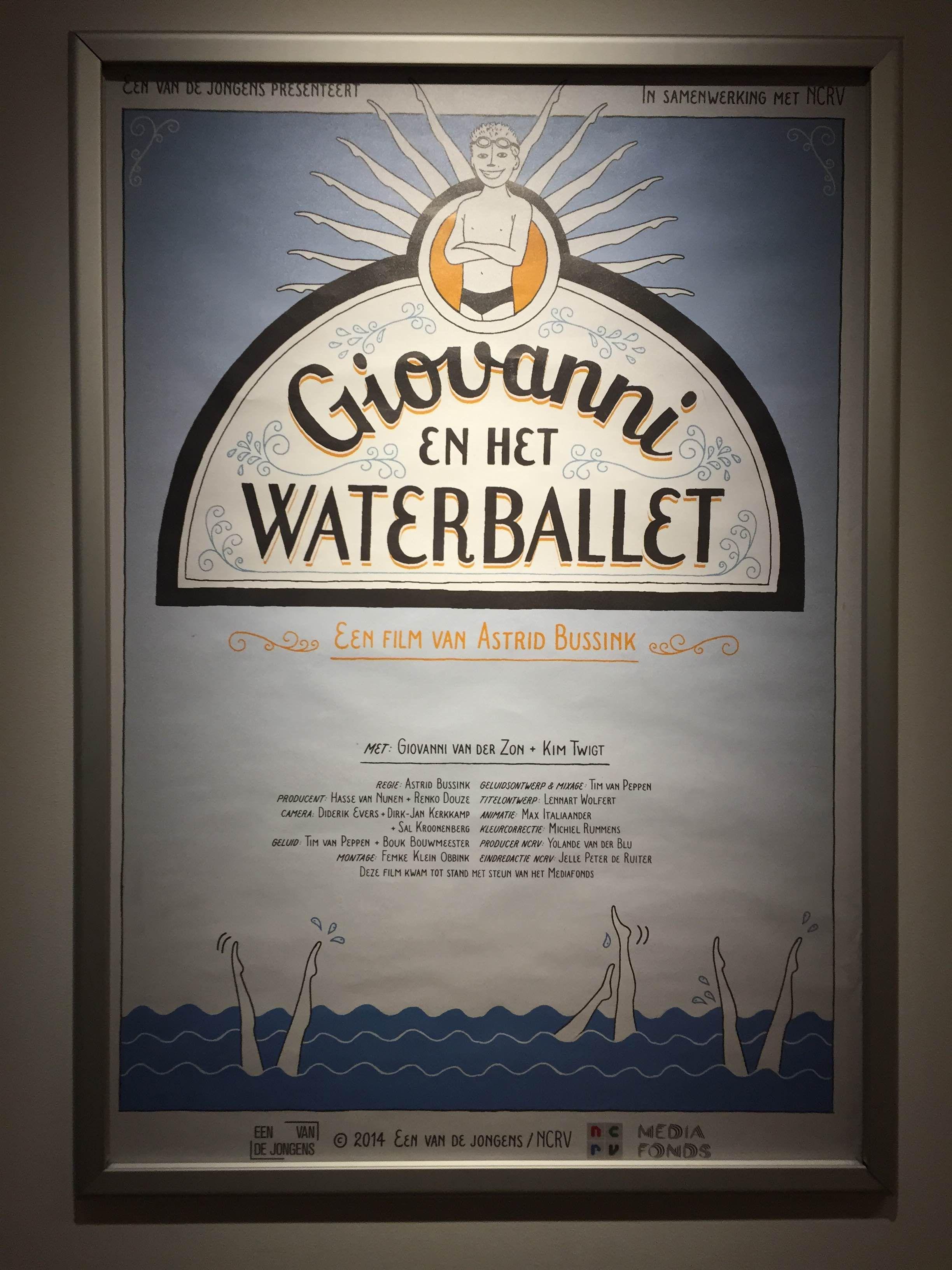 Filmposter van 'Giovanni en het Waterballet'