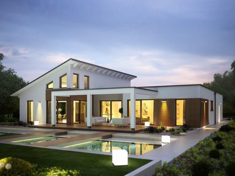 Moderne architektenhäuser mit pool  Marseille L – von RENSCH-HAUS | Haus & Bau | zuhause3.de | House ...