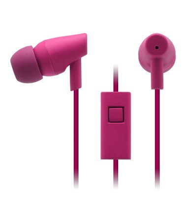 Take a look at this Boysenberry Moda Ear Buds & Microphone by Nicole Miller on #zulily today!