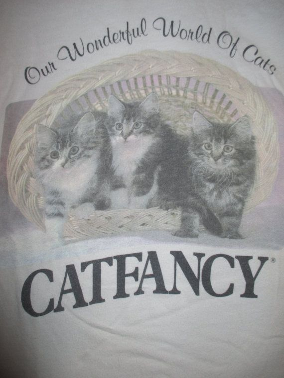 90s Cat Fancy Our Wonderful World Of Cats by SpectruumVintage