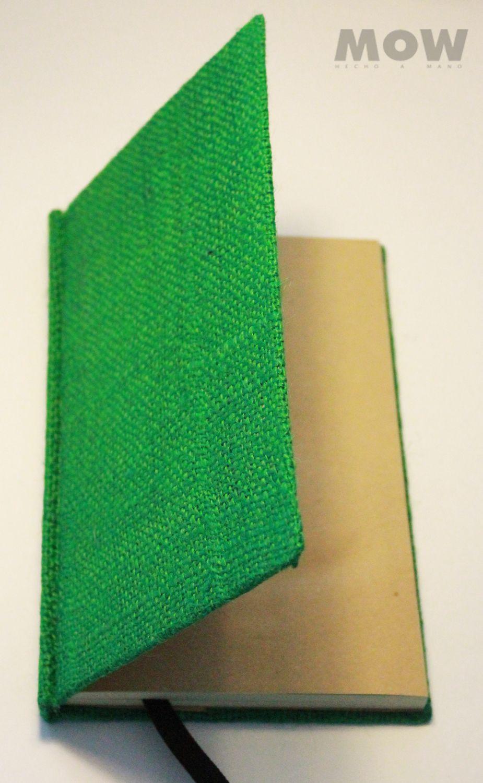 Pachamama Cuaderno Mow 100 Hojas Papel Reciclado Mezclado Con Papel Bond Color Verde Agua Tapa Forrada En Yute Cuaderno Hecho A Mano Cuadernos Hecho A Mano