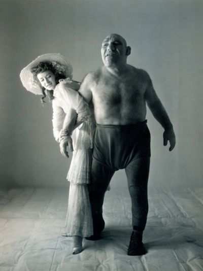 """Real life Shrek. Maurice Tillet was actually a very intelligent person who was a poet and writer. He could speak 14 languages.  Tillet was born in 1903, and as a teenager he manifested a rare disease called acromegaly, which caused his bones to grow uncontrollably. As a result his body was disfigured, and he turned into what people back then referred to as """"freak show""""; He took advantage of his condition, turning into a pro wrestler called the """"freak ogre of the ring""""."""