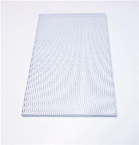Custom White Metal Speaker Grill Steel