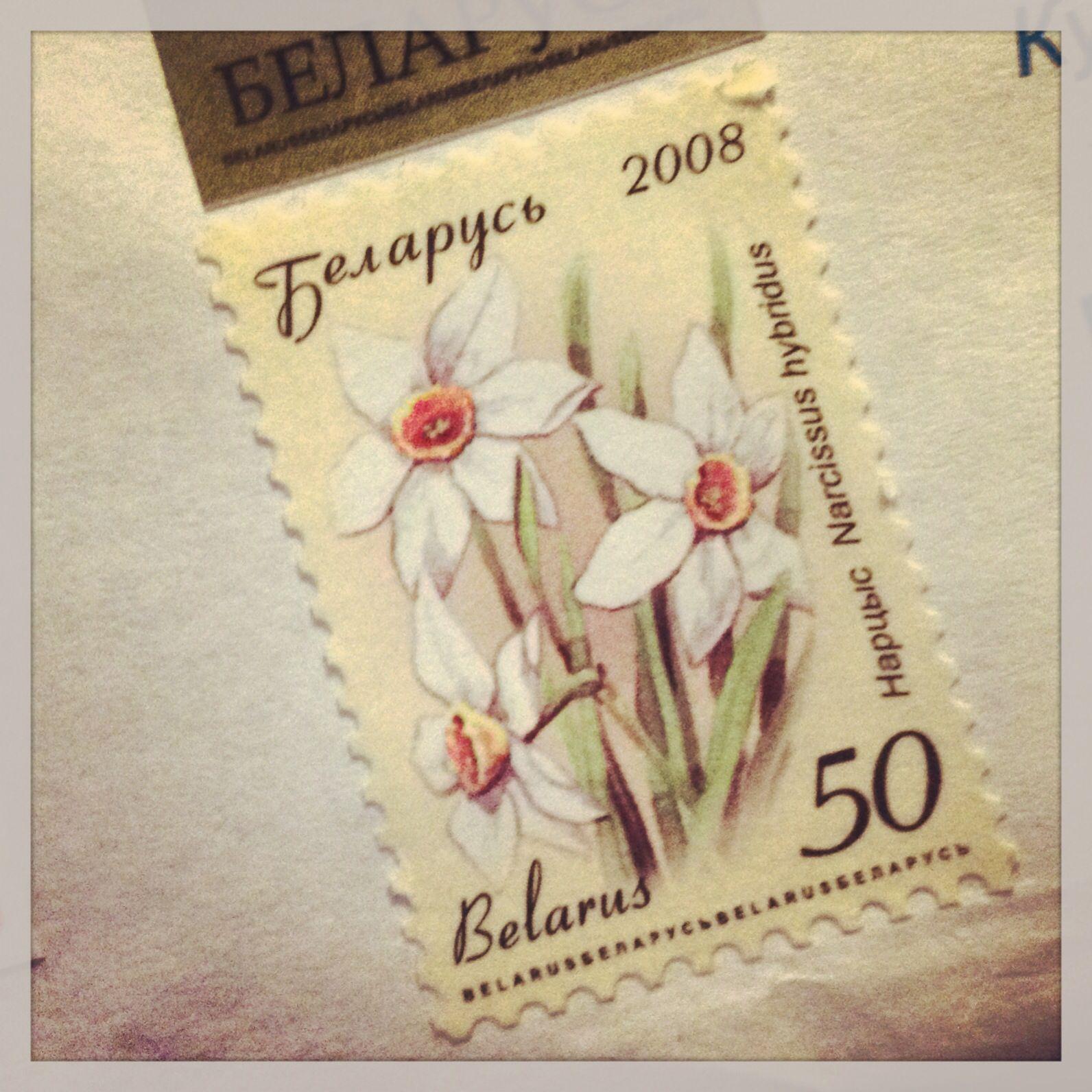 Un sello de Bielorrusia