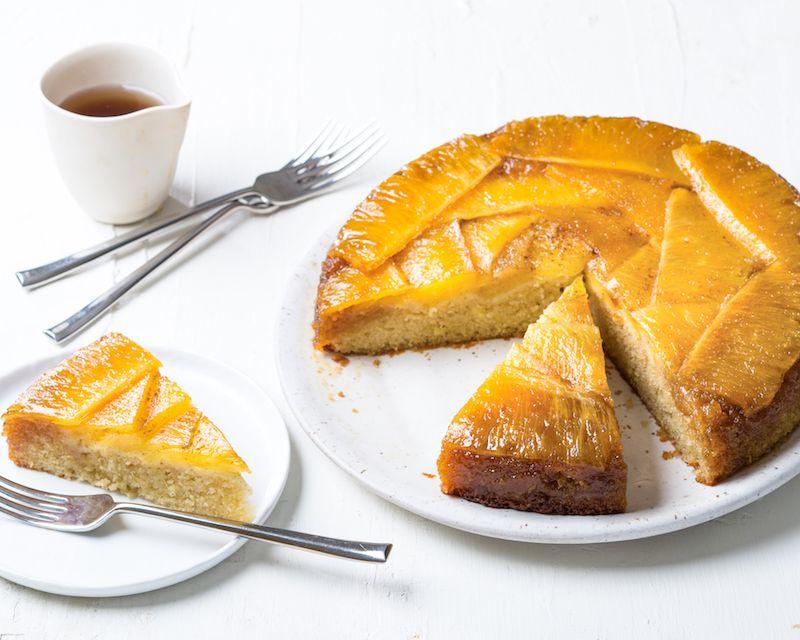Heilala Vanilla Pineapple Upside Down Cake Recipe Pineapple